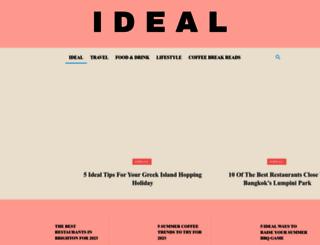 idealmagazine.co.uk screenshot