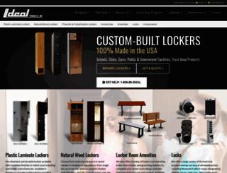 idealockers.com screenshot