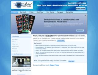 idealphotobooth.com screenshot