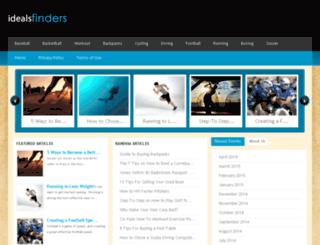 idealsfinders.com screenshot
