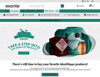 idealshapeupchallenge.com screenshot