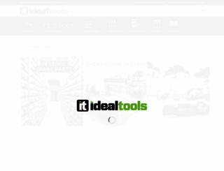 idealtools.com.au screenshot