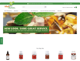 idealvitamins.com screenshot