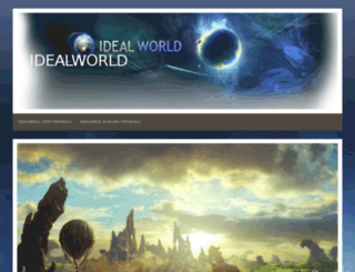 idealworldonline.org screenshot