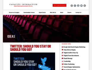 ideas.capacityinteractive.com screenshot