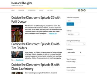 ideasandthoughts.org screenshot