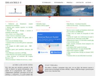 ideaschile.cl screenshot