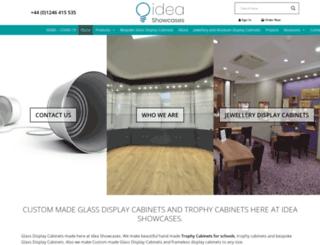 ideashowcases.co.uk screenshot