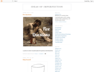 ideasofimperfection.blogspot.com screenshot