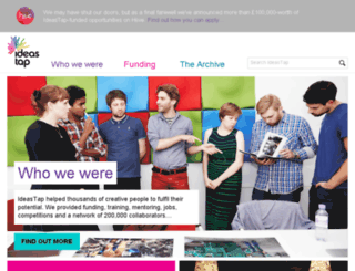 ideastap.com screenshot