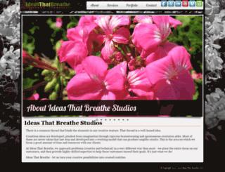 ideasthatbreathe.com screenshot