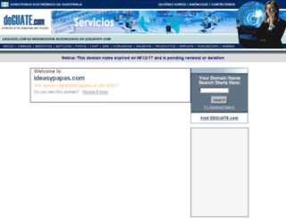 ideasypapas.com screenshot