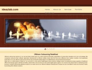 ideazlab.com screenshot