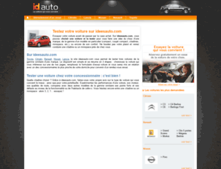 ideesauto.com screenshot