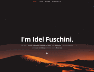 idelfuschini.it screenshot