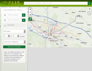idelis.cartographie.pro screenshot