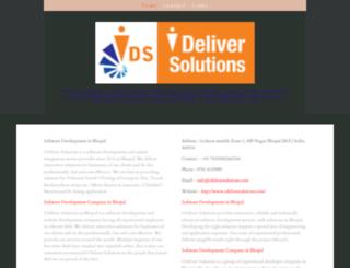ideliver-solutions.yolasite.com screenshot