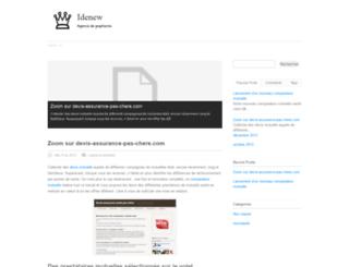 idenew-agence-de-graphisme.com screenshot