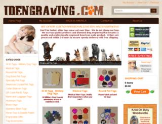 idengraving.com screenshot