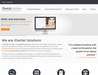 identalsolutions.co.uk screenshot