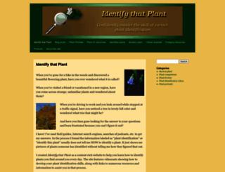 identifythatplant.com screenshot