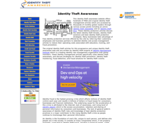 identity-theft-awareness.com screenshot