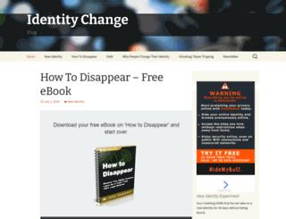 identitychange.net screenshot