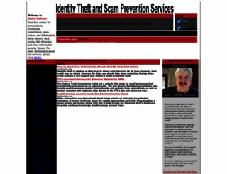 identitytheft.info screenshot