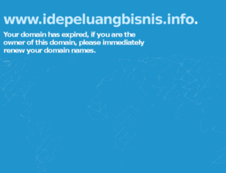 idepeluangbisnis.info screenshot