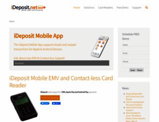 ideposit.net screenshot