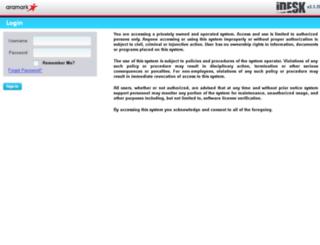idesk.aramark.net screenshot