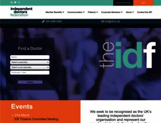 idf.uk.net screenshot