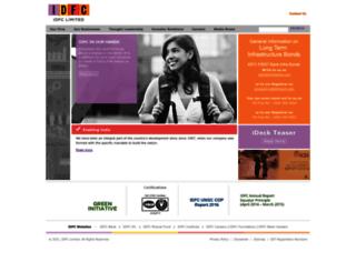 idfc.com screenshot