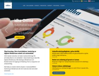 idha.com screenshot