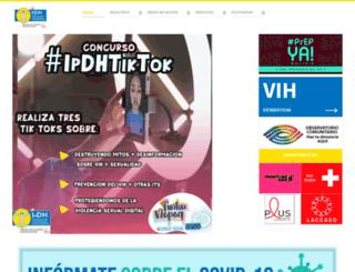 idhbolivia.org screenshot