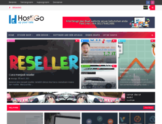 idhostigo.blogspot.com screenshot