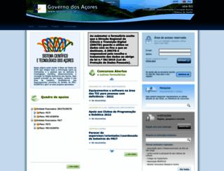 idia.azores.gov.pt screenshot