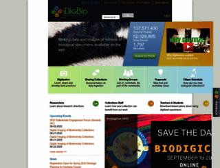 idigbio.org screenshot