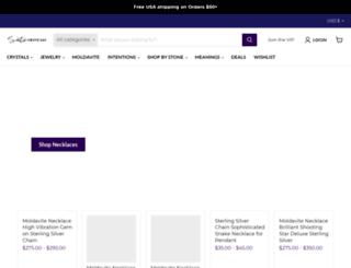 idigcrystals.com screenshot