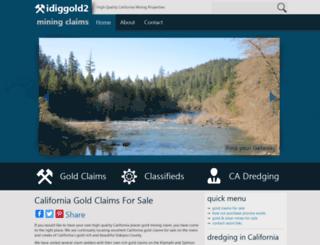 idiggold2.com screenshot