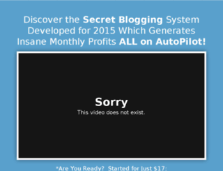 idiotproofblogging.com screenshot