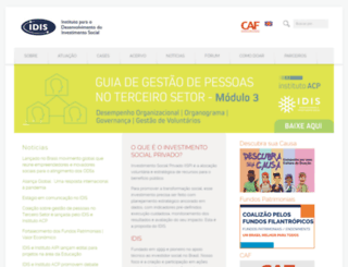 idis.org.br screenshot