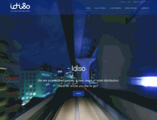 idiso.com screenshot