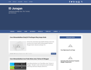 idjuragan.blogspot.co.id screenshot