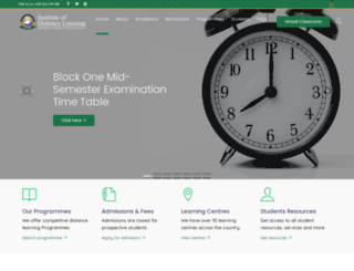 idl.knust.edu.gh screenshot