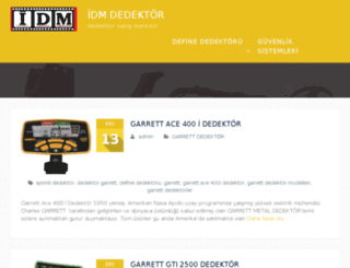 idmdedektor.com screenshot