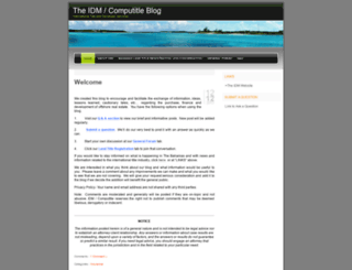 idminc.wordpress.com screenshot