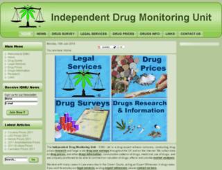 idmu.co.uk screenshot