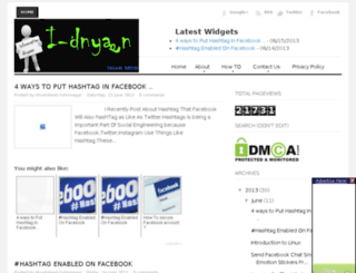 idnyaan.blogspot.in screenshot