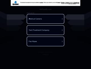 idolhealth.com screenshot